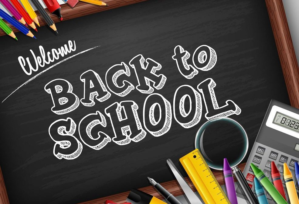 Updated Back to School Information