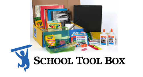 School Supplies Made Easy with School Tool Box